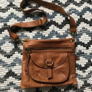 Fossil Genuine Leather Crossbody/shoulder Bag
